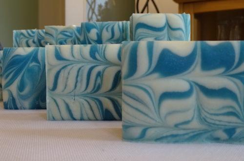 Blauer Zauber Seife